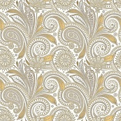 Astoria Ochre Paisley Natural 59.55x59.55 плитка